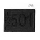 Патч (заплатка) термоклеевой 501 черный